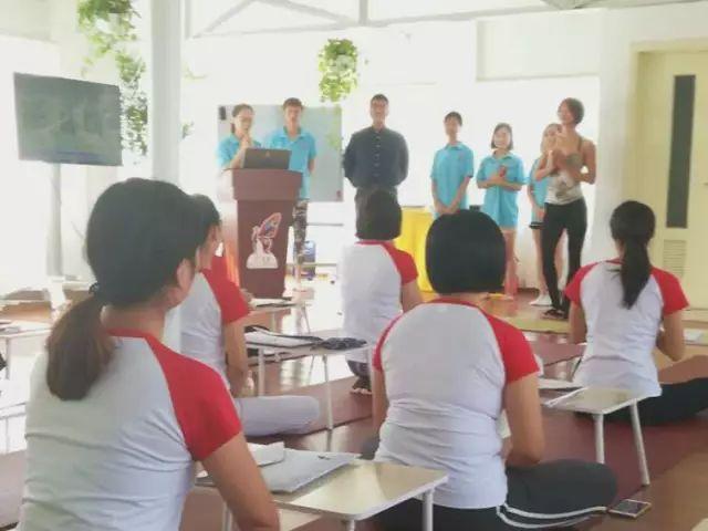 第七期CTC国际注册儿童瑜伽指导师明媚开课!